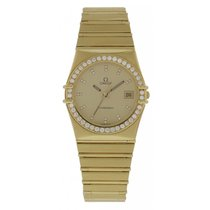 Omega Men's Omega Constellation 18K Yellow Gold 4961080