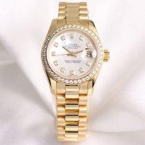 Rolex Lady DateJust 179138 MOP Diamond 18k