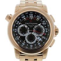 Carl F. Bucherer Carl F  Rose Gold TravelTec Watch