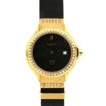 Hublot Classic Lady 1391.3.054 In Oro Giallo E Caucciu
