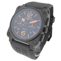 Bell & Ross BR-03-94-BLK-CARORG-RS BR03-94 Chronograph -...