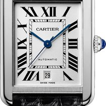 Cartier Tank Solo XL Automatic Silver Dial W5200027 T