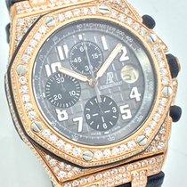 Audemars Piguet AP Royal Oak Offshore 18K 750 Roségold Diamonds