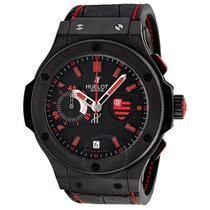 Hublot Flamengo Bang Black Rubber Gummy Alligator Men's Watch
