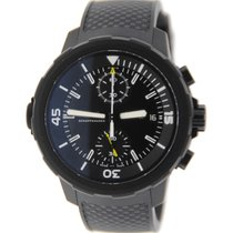 IWC Aquatimer Galapagos Islands Chronograph Black Stainless Stee