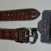 Glashütte Original vintage brown croco leather strap mm 19 and...