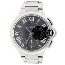 Cartier Ballon Bleu XL Chronograph Black Roman 44MM W6920077