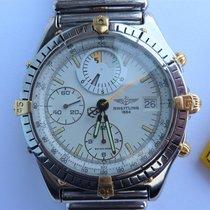 Breitling B13047 Chronomat Windrider Yachting Stahl Gold...
