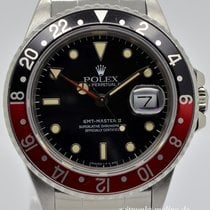 Rolex GMT Master II, Fat-Lady, Ref. 16760, Bj. 1986
