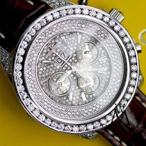 Breitling For Bentley 6.75 A4436412 10ct Diamond Bezel Watch...
