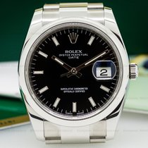Rolex 115200 Oyster Perpetual Date Blue Dial SS (25663)