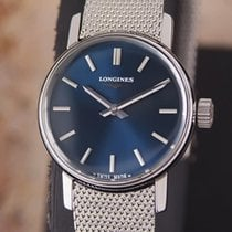 Longines Ladies Swiss Made Manual Stainless Steel 1980s Dress...