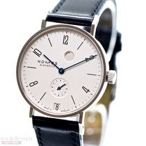 Nomos Tangente Power Reserve Date Ref-131 Stainless Steel Box...