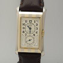 """Rolex Prince Brancard """"Zebra"""" -Mirror-Dial-  um 1930"""