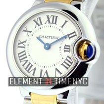 Cartier Ballon Bleu Collection Steel / 18k Yellow Gold 28mm...