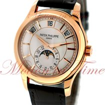 Patek Philippe Annual Calendar, Opaline White Dial - Rose Gold...