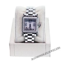 Chopard Happy Sport 27/8358-23  Gold Steel Diamonds Ladies Watch