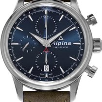 Alpina Geneve Alpiner Chronograph AL-750N4E6 Herren Automatikc...