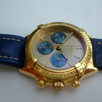 Breitling Chrono Callisto 18 Karat Gold, Handaufzug Lemania 1873