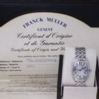 Franck Muller Ladies Curvex Cintree With Diamonds In Stainless