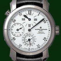 Vacheron Constantin Malte Regulateur Dual Time 18k White Gold...