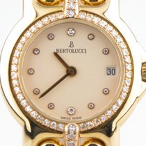 Bertolucci Pulchra 18K Yellow & Rose Gold Watch with...