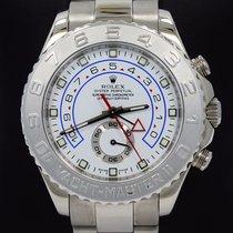 Rolex Yacht Master II 116689 Platinum Bezel 18k White Gold...