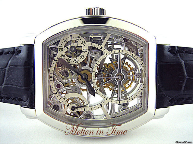 Vacheron Constantin MALTE TOURBILLON SKELETON - PLATINUM-POWER RESERVE-SQUELETTE