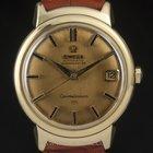 Omega 18k Y/G Fancy Lugs Automatic Constellation Gents Watch