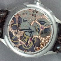 Tavannes TA-VON Skeleton with see-through back rose movement