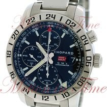 Chopard Mille Miglia GMT Chronograph, Black Dial - Stainless...