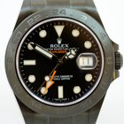 Rolex Explorer II BLACK MAGIC  LC 100  DLC