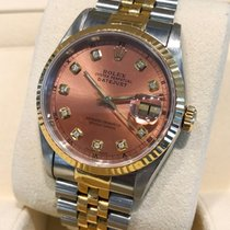 Rolex Oyster Datejust Jubilee Gold Steel Cream Jubilee Dial 36 mm