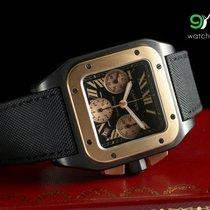 Cartier W2020004 Santos 100 Chronograph