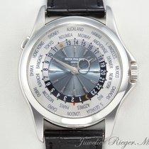 Patek Philippe WORLD TIME 5130 P PLATIN 950 AUTOMATIK Platinum...