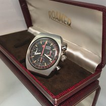 Roamer Stingray vintage chronograph Valjoux 72 rare with box