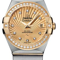 Omega Constellation Co-Axial Automatic 27mm 123.25.27.20.58.001