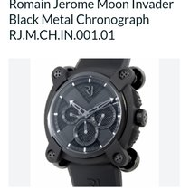 Romain Jerome Moon Invader Black Metal chronograph