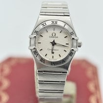 Omega Constellation Ladies  Silver / Grey     Stainless Steel ...