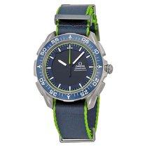 Omega Skywalker X-33 Analog Digital Dial Blue & Green Mens...