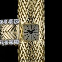 Cartier 18k Y/G Very Rare Diamond Case Bracelet Ladies 1930s...