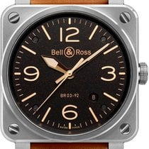 Bell & Ross Aviation Gold Heritage
