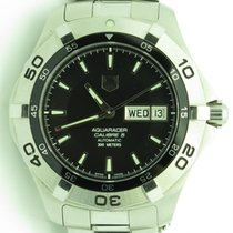 TAG Heuer Aquaracer Day & Date Automatic Steel Mens Watch...