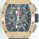 Richard Mille RM011 Rose Gold,Felipe Massa,Flyback Chronograph...