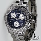 Breitling Diamond Breitling Colt Chronograph A73350 Stainless...