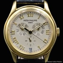 Patek Philippe Ref# 5035, Yellow Gold, Annual Calendar
