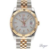 Rolex Datejust Turn-O-Graph Rose Gold/Steel