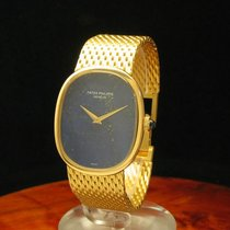 Patek Philippe Golden Ellipse Lady 18kt 750 Gold Damenuhr /...