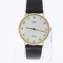 Rolex Cellini 18K Gold 5112 box/papers rare dial