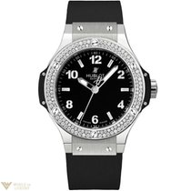Hublot Big Bang Diamond & Stainless Steel Ladies Watch